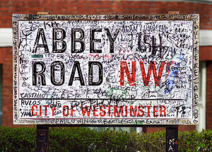 Abbey Road Studios - Abbey Road has become a London tourist attraction.