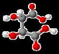 Acido L-tartarico modello.png