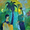 Adi Holzer Begegnung in Nizza (gemalt 2015).jpg