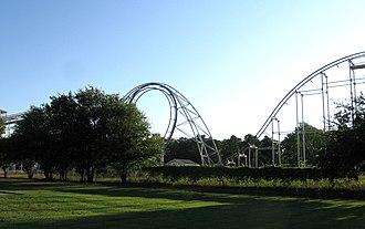 Fun Spot Amusement Park & Zoo - Afterburner rollercoaster
