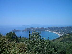Agios Georgios, Corfu - Agios georgios beach