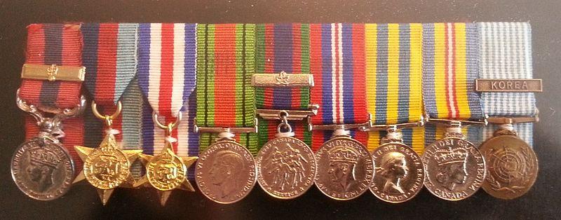 Leo Major's Medals