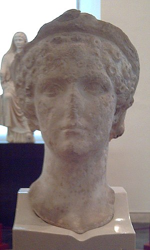 Bust of Agrippina the Younger (15–59 AD).