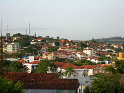 View of the midtown and the Jardim Iporanga neighborhood in Águas de São Pedro