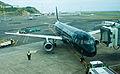 Air New Zealand Airbus A320-200 ZK-OAB Wellington International Airport.jpg