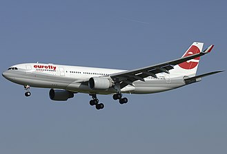 Meridiana - Airbus A330-200 operated by Eurofly