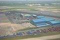 Aircraft Maintenance Area - Aerial View - Indira Gandhi International Airport - New Delhi 2016-08-04 5802.JPG