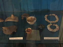 Aiud History Museum 2011 - Late Turdas Culture and Decea Muresului Culture Items.JPG