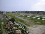 Al-Bass Arch Site Hippodrome.JPG