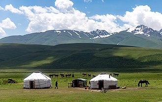 Kyrgyz people - Nomads in Kyrgyzstan