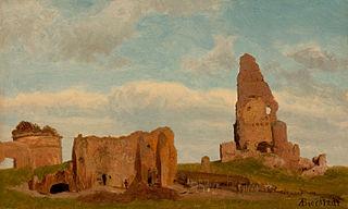 Ruines, campagne romaine