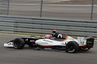 Albert Costa (racing driver) - Albert Costa at the 2011 Nürburgring World series by Renault round