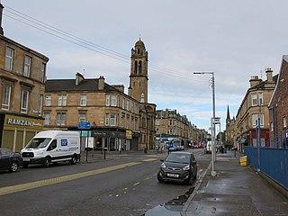 Pollokshields Human settlement in Scotland