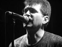 Steve Albini, produttore artistico dell'album.