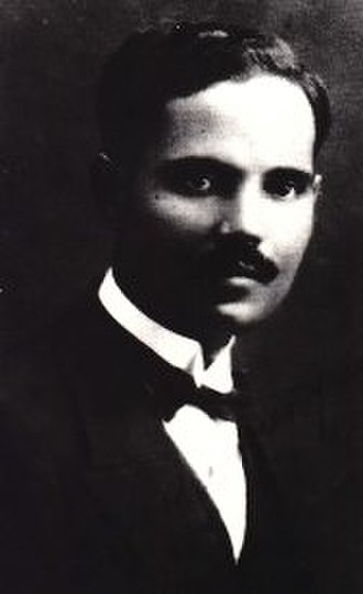 Pedro Albizu Campos - Pedro Albizu Campos during his years at Harvard University, 1913-1919