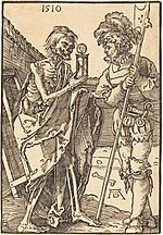 Albrecht Dürer, Death and the Lansquenet, 1510, NGA 6729.jpg
