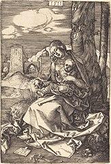 La Vierge et l'Enfant avec la poire