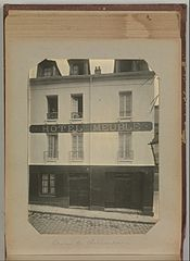 Album of Paris Crime Scenes - Attributed to Alphonse Bertillon. DP263707.jpg