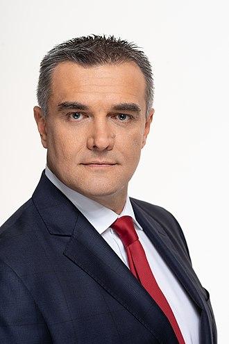 Alexander Dimitrov - Image: Alexander Dimitrov CEO of A1 Bulgaria