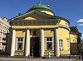 Alexander Nevsky Kirche in Riga Eingang.jpg