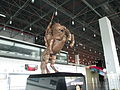 Alexander the great statue in Skopje Airport.JPG