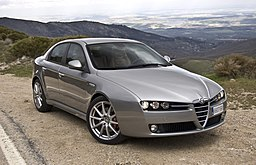 Alfa 159 grey