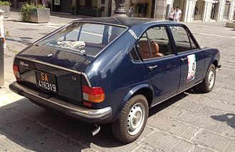 Alfa Romeo Alfasud - Alfasud Super 1.3