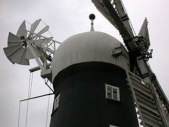 Alford Windmill - Close up of sails
