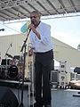 Algiers RiverFest 2012 Lucian Barbarin Sings.JPG