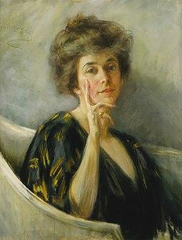 Alice Pike Barney - Self-Portrait in Repose