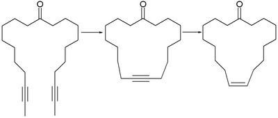 ring closure metathesis reaction