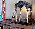 All Saints Bristol 07b altar ciborium.jpg