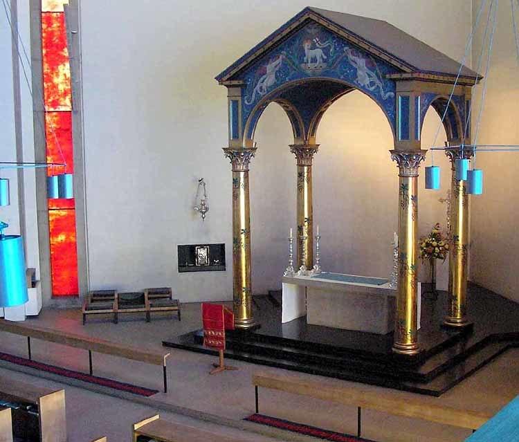 All Saints Bristol 07b altar ciborium