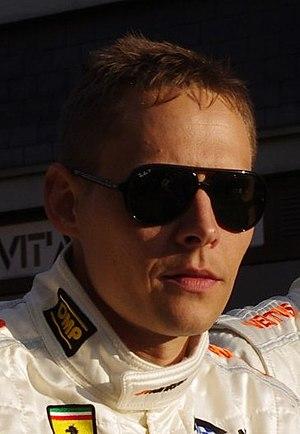 Allan Simonsen (racing driver) - Simonsen in 2011