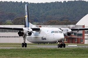 Alliance Airlines Fokker 50 CBR Gilbert.jpg