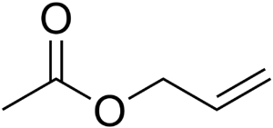 Allyl acetate - Image: Allyl Acetate Chem Draw