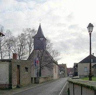 Altwiller - Image: Altwiller, Église protestante
