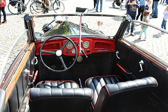 DKW F8 - DKW F8 Cabriolet, interior