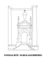 Alzado de la puerta este de la Iglesia de San Emeterio, Sietes (Villaviciosa).png