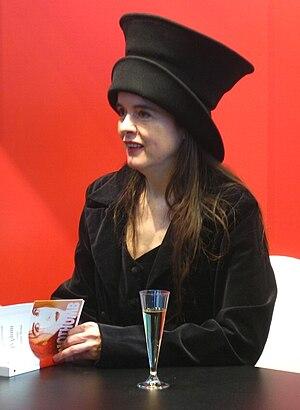 Photo Amélie Nothomb via Opendata BNF