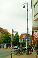 Am Lindener Marktplatz Ecke Falkenstraße Straßenlaterne der Gießerei Tangerhütte.jpg