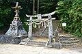 Amanotanagahime-jinja-ato, torii.jpg