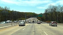 American Legion Memorial Bridge, Maryland, April 20, 2014.jpg
