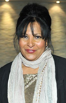 "Pam Grier bij receptie ""An Evening with Pam Grier"" in 2012."