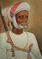 An old Rajput wearing a white turban (6124606803).jpg