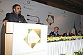 Anand Sharma addressing at Ministerial Forum 'Indo-Italian Cooperation Addressing Challenges, Strengthening Ties', in New Delhi. The Italian Minister for Economic Development, Mr. Paolo Romani is also seen.jpg