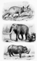 Ancient animals from Centennial History of Oregon.png
