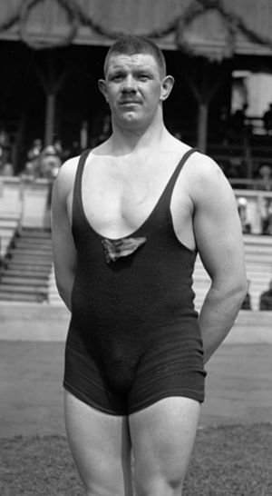 Anders Ahlgren - Ahlgren at the 1912 Olympics