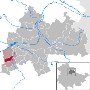 Andisleben - Image: Andisleben in SÖM