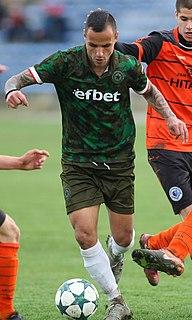 Andon Gushterov Bulgarian footballer